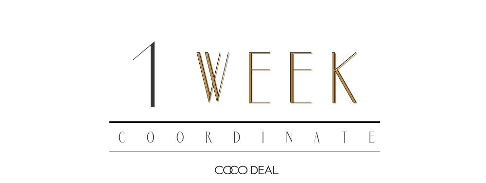 1 week coordinate