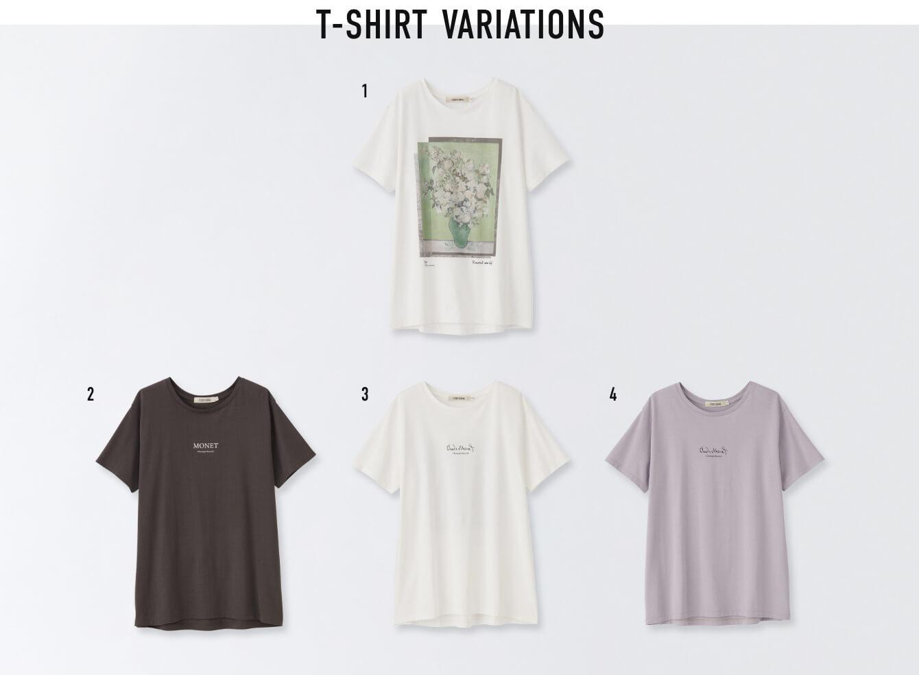 T-SHIRT VARIATIONS